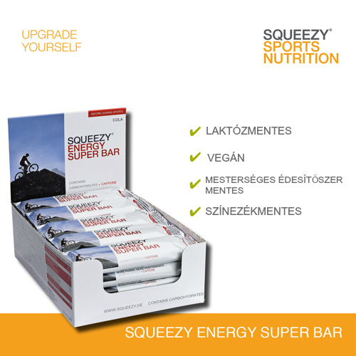 ENERGY SUPER BAR energiaszelet koffeinnel